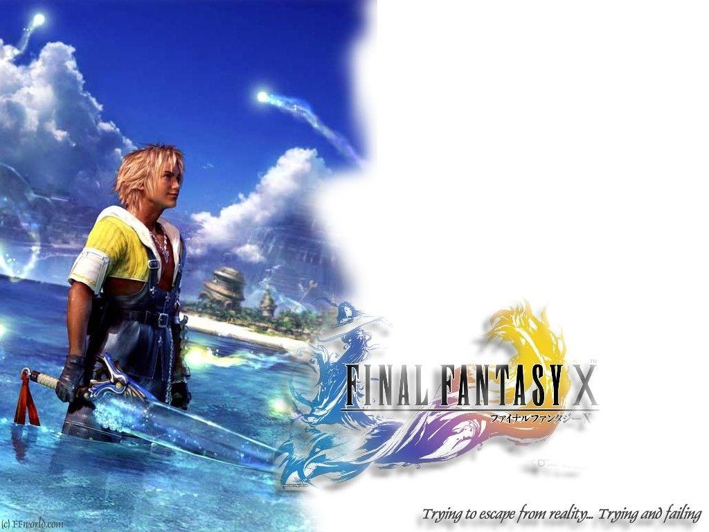 Wallpaper Final Fantasy 10 tidus