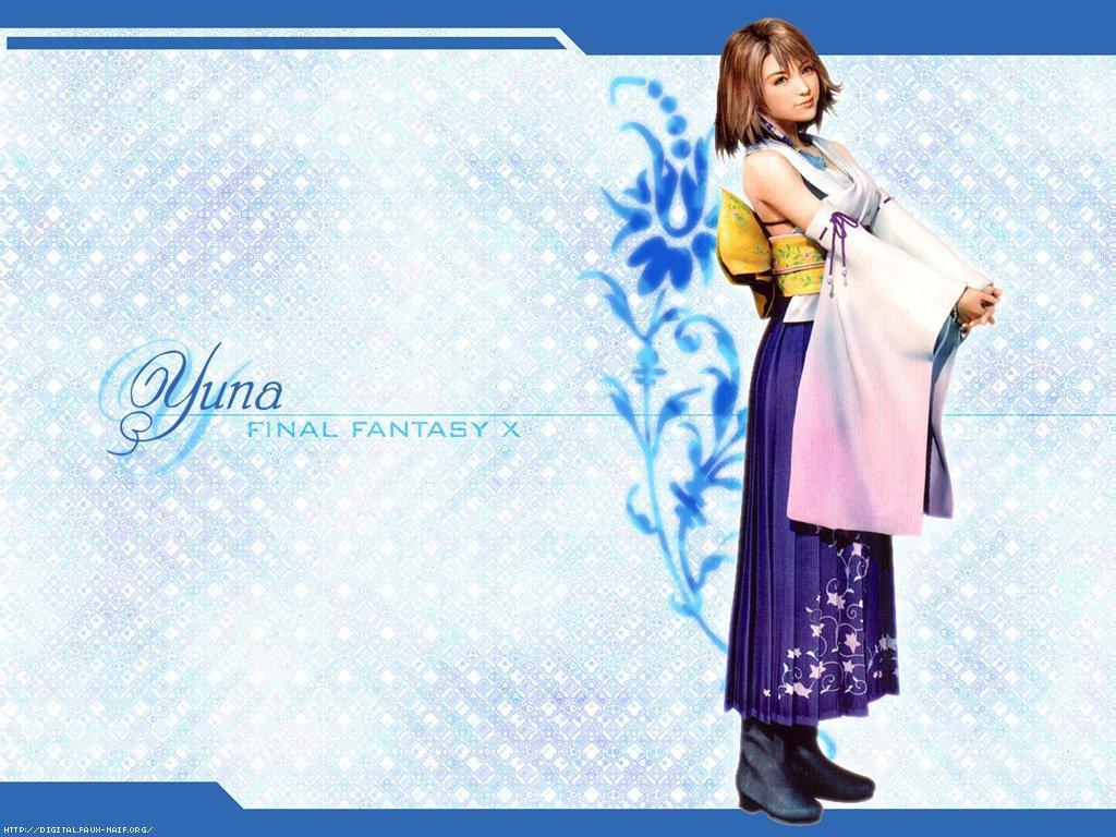 Wallpaper Final Fantasy 10 yuna