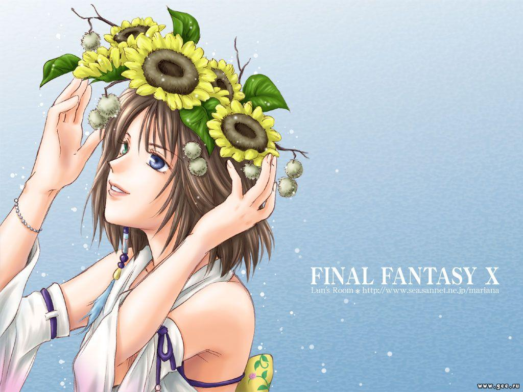 Wallpaper yuna Final Fantasy 10