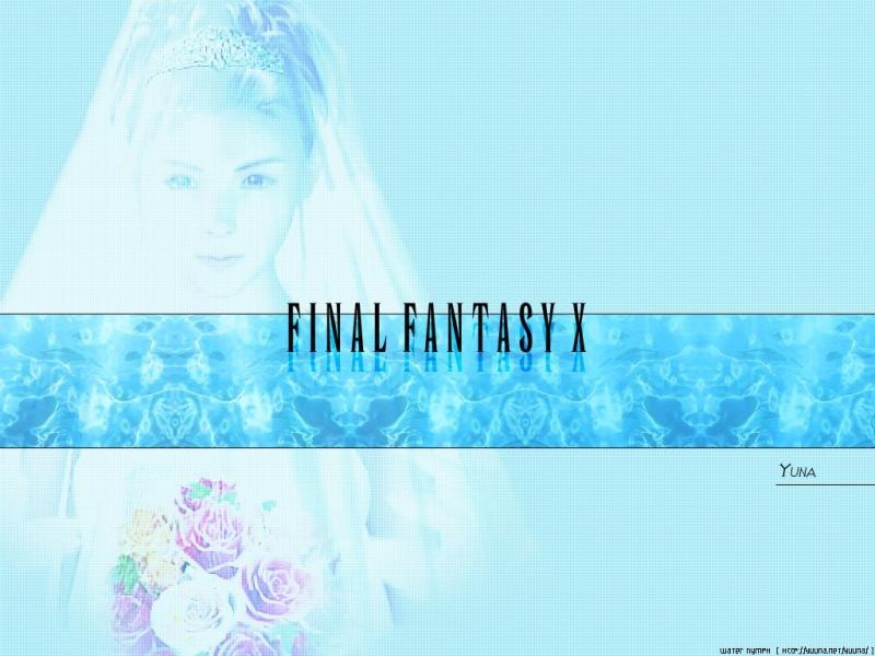 Wallpaper yuna Final Fantasy 10