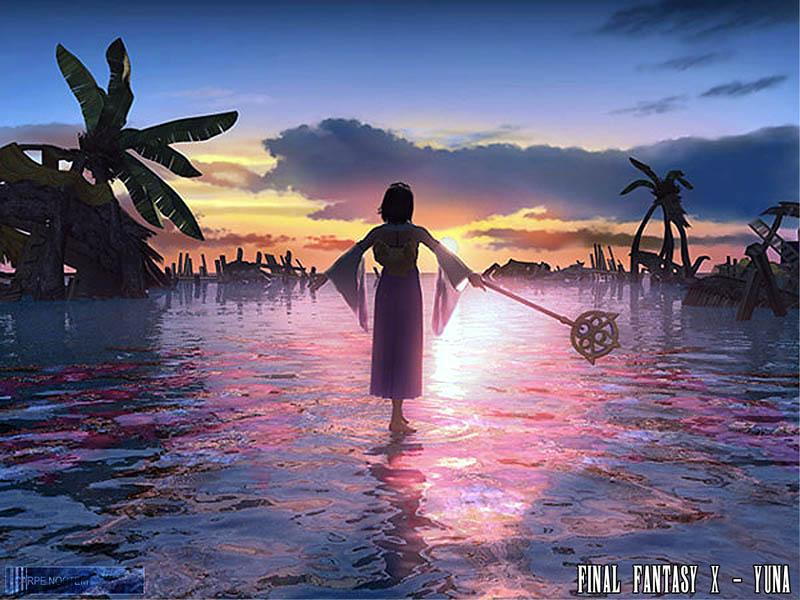 Wallpaper Final Fantasy 10 yuna