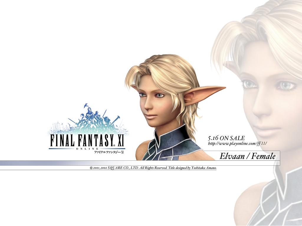Wallpaper FF XI Final Fantasy 11