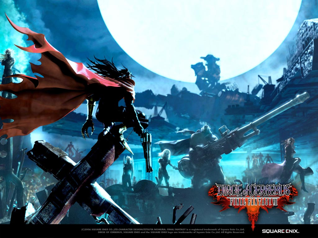 Wallpaper Final Fantasy 12 FF VII DIRGE of CERBERUS