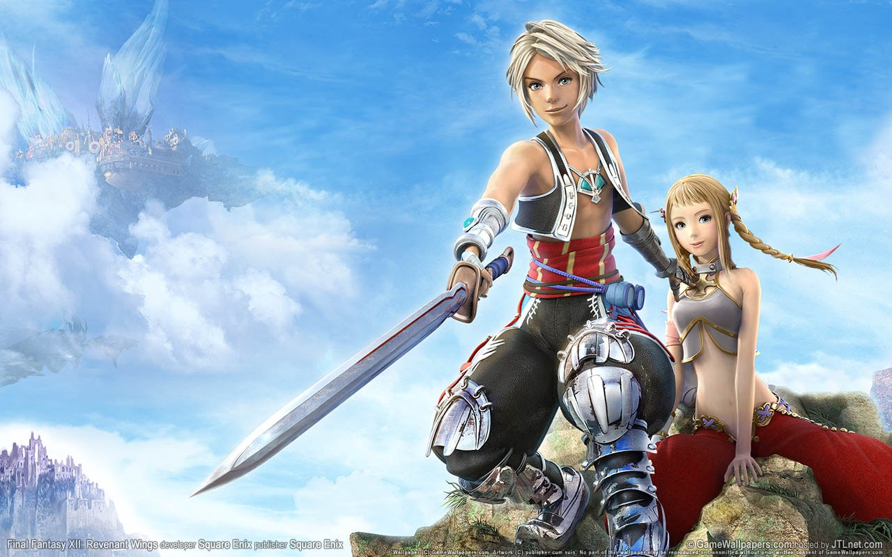 Wallpaper Final Fantasy 12 FF XII Revenant-Wings