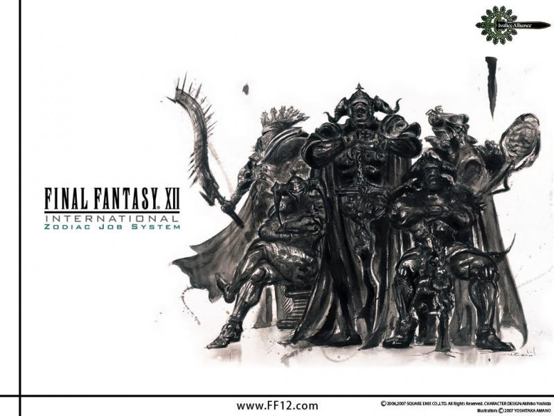 Wallpaper Final Fantasy 12 FF XII