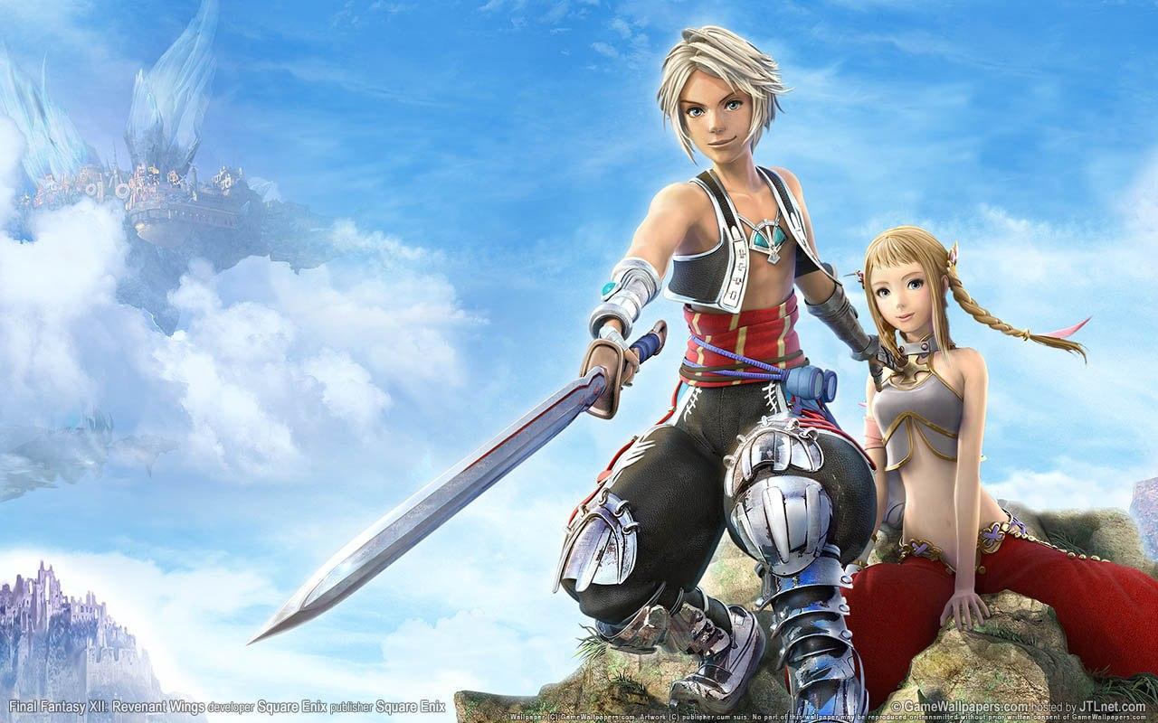 Wallpaper FF XII Revenant-Wings Final Fantasy 12