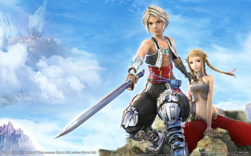 Wallpaper Final Fantasy 12 FF XII Revenant-Wings