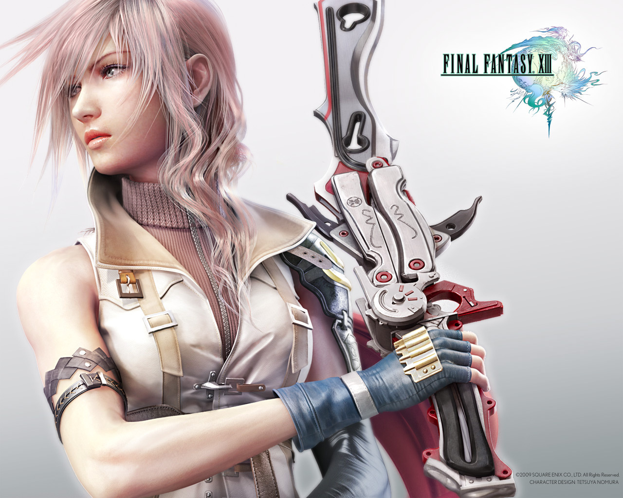 Wallpaper Final Fantasy 13 FF XIII