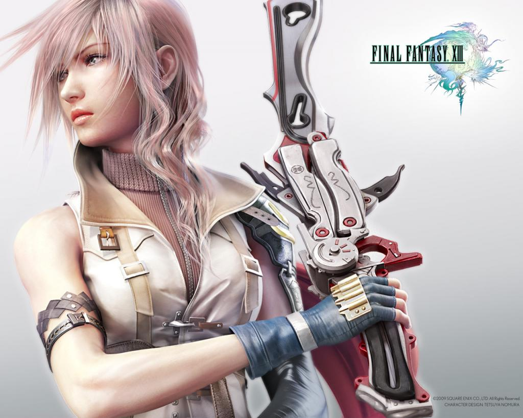 Wallpaper Final Fantasy 13 FF XIII