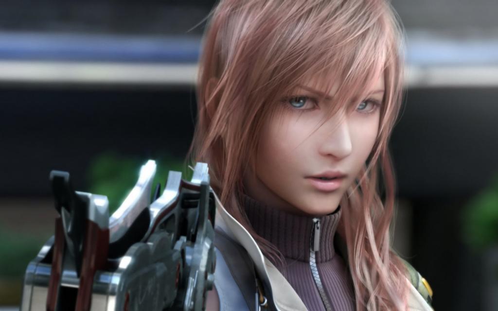 Wallpaper FF XIII Final Fantasy 13