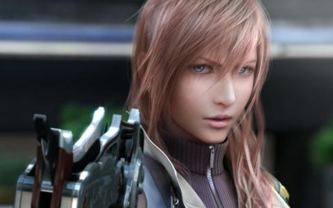 Wallpaper FF XIII Final Fantasy 13
