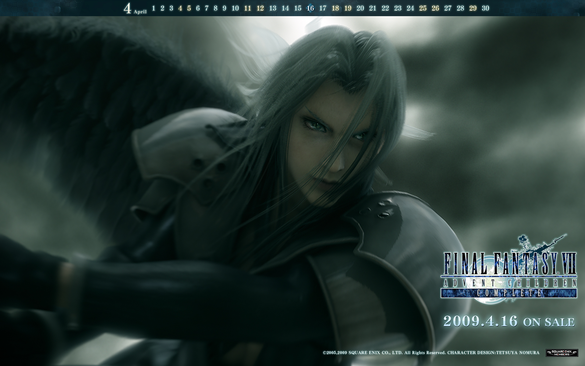 Wallpaper FFVII-Advent-Children Final Fantasy 7