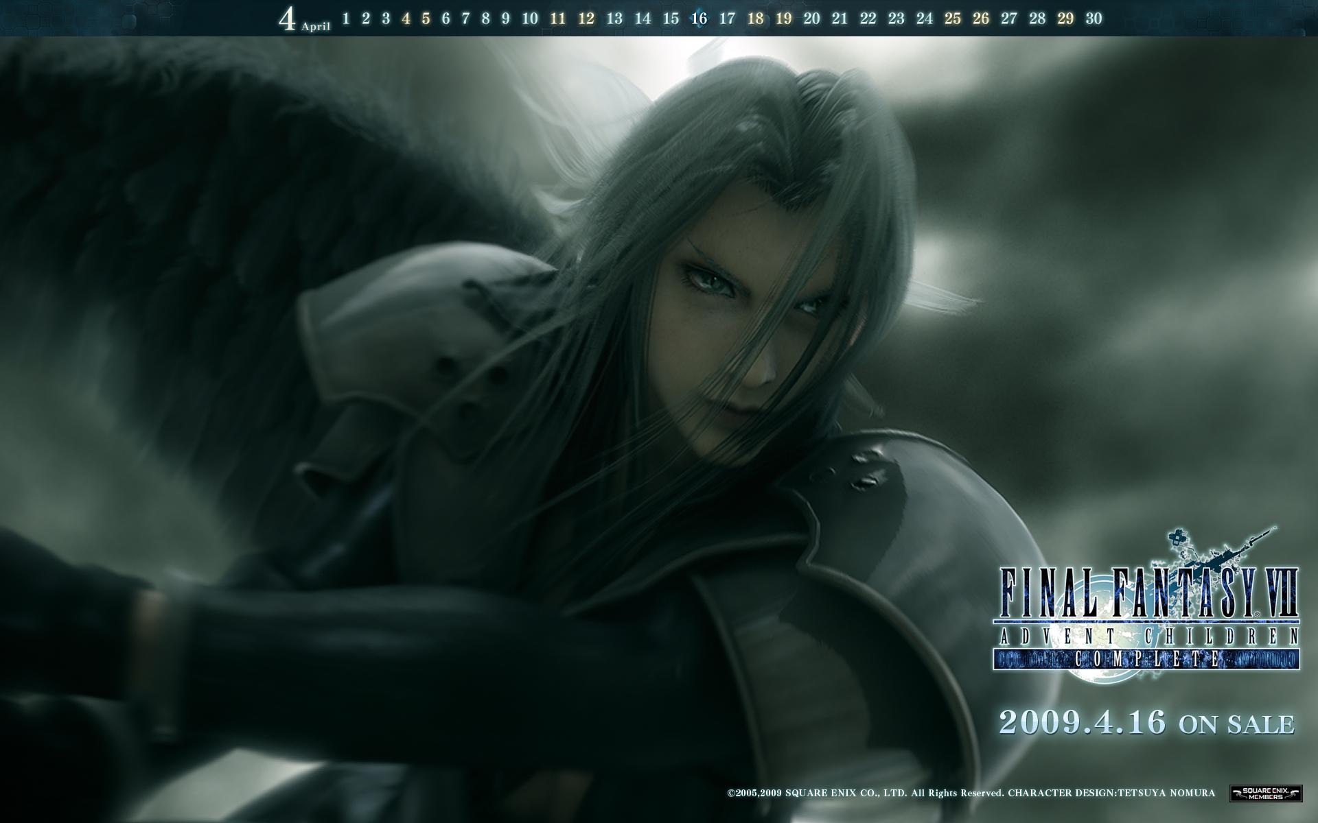 Wallpaper Final Fantasy 7 FFVII-Advent-Children