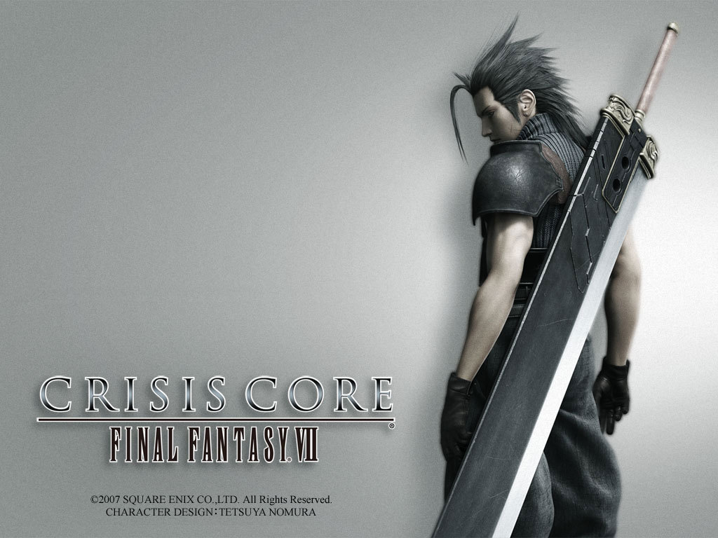 Wallpaper FFVII-Crisis-Core Final Fantasy 7
