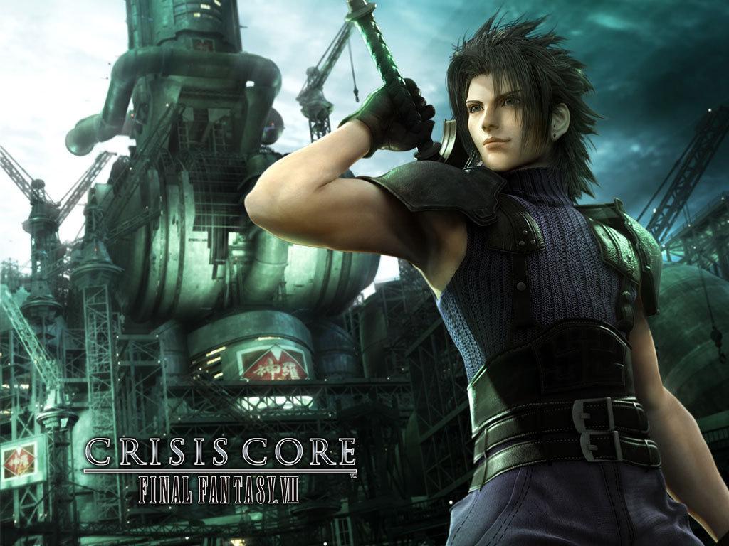 Wallpaper FFVII-Crisis-Core Final Fantasy 7