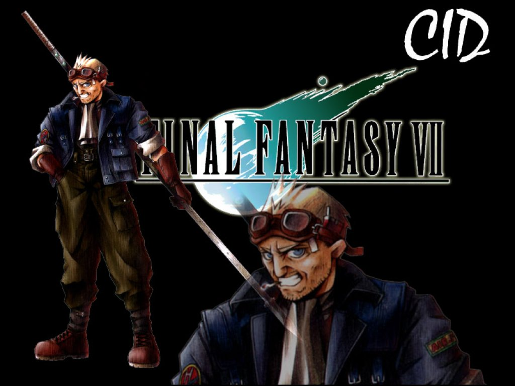 Wallpaper cid Final Fantasy 7