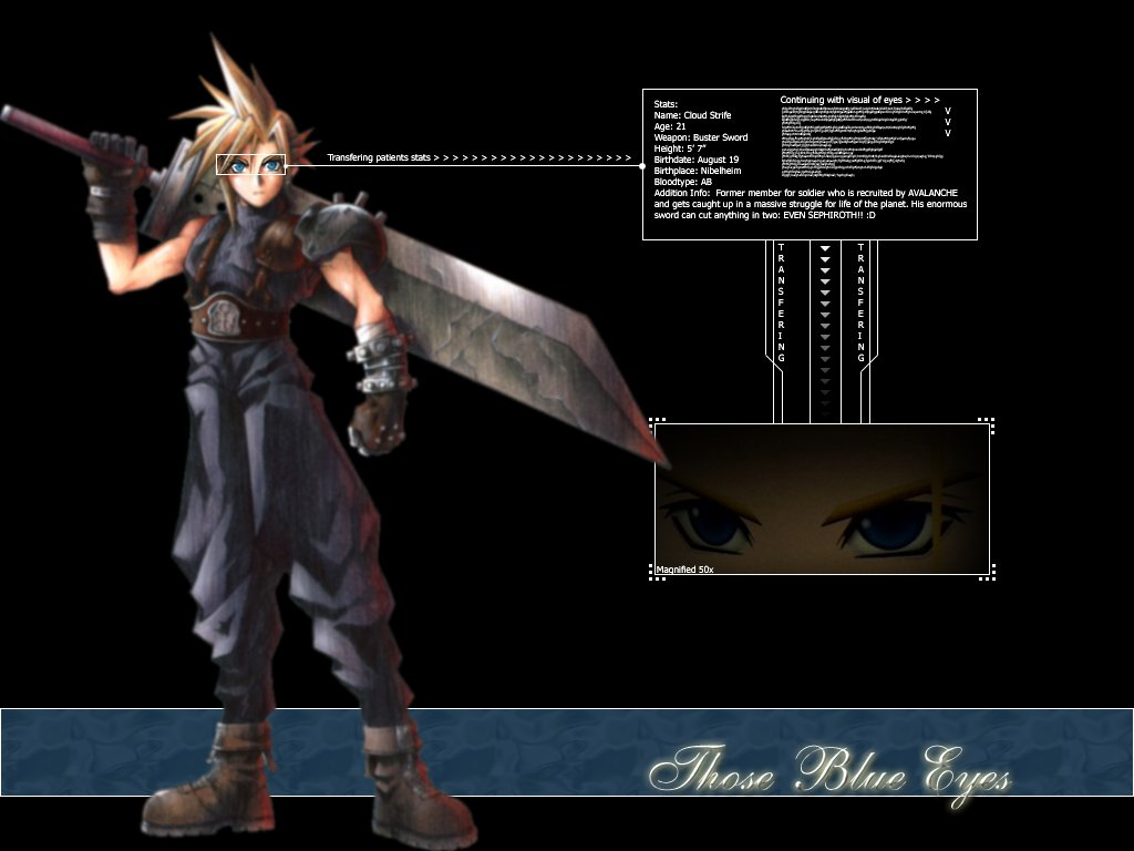 Wallpaper cloud Final Fantasy 7