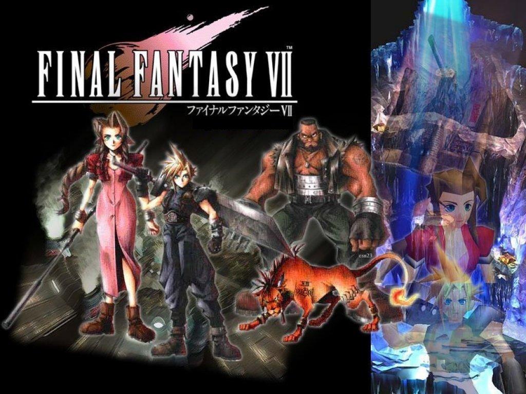 Wallpaper Final Fantasy 7 les personnages