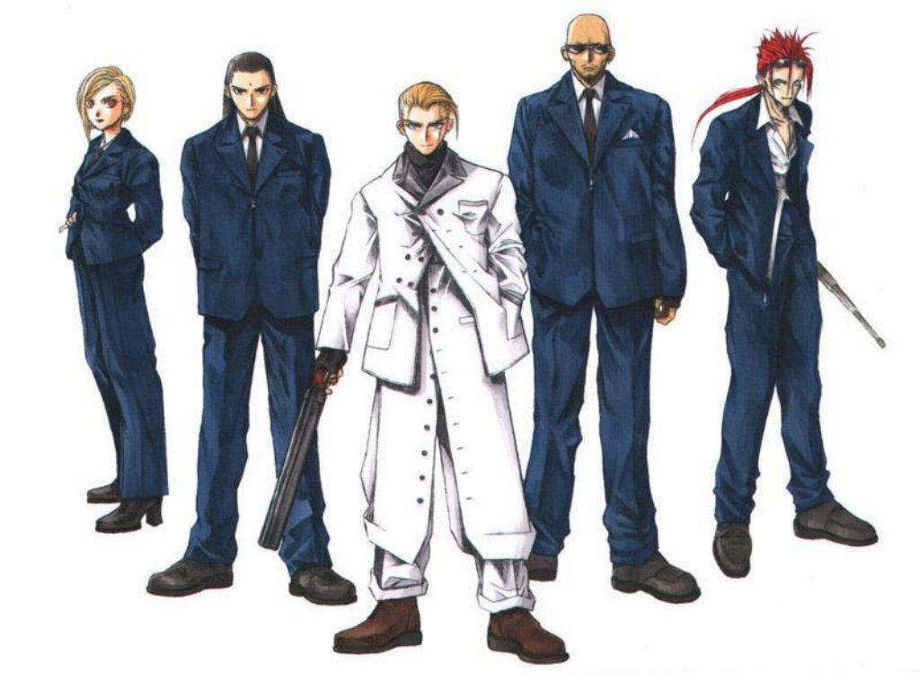 Wallpaper Final Fantasy 7 pas fin