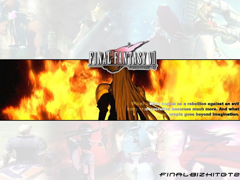Wallpaper sephiroth Final Fantasy 7