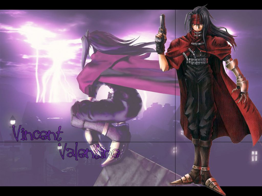 Wallpaper Final Fantasy 7 vincent
