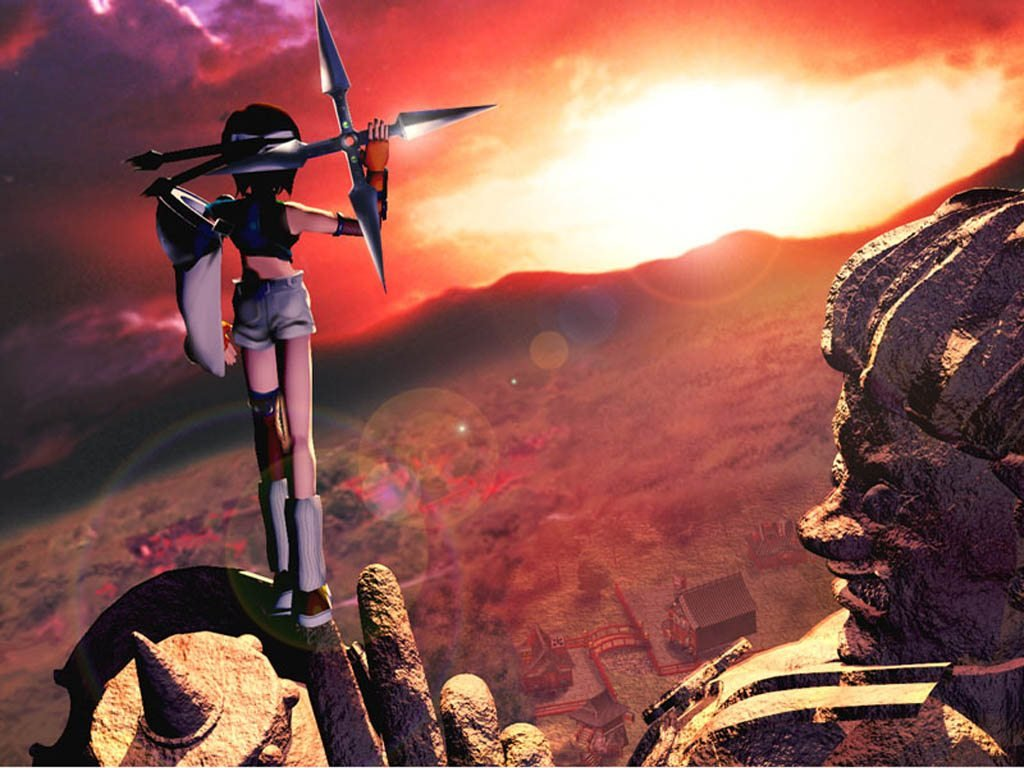 Wallpaper Final Fantasy 7 yuffie