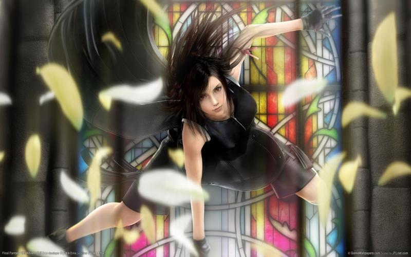 Wallpaper Final Fantasy 7 FF VII