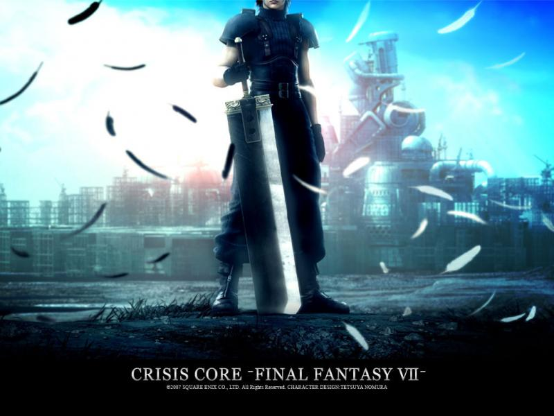 Wallpaper Final Fantasy 7 FFVII-Crisis-Core