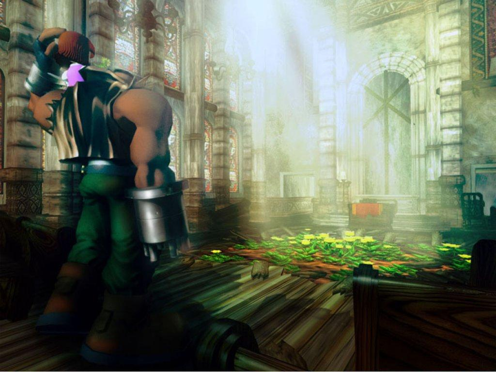 Wallpaper barret Final Fantasy 7