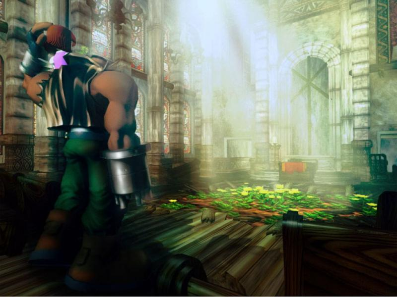 Wallpaper Final Fantasy 7 barret