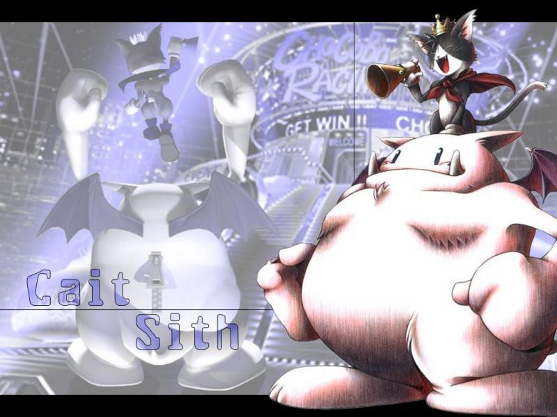 Wallpaper Final Fantasy 7 cait et sith