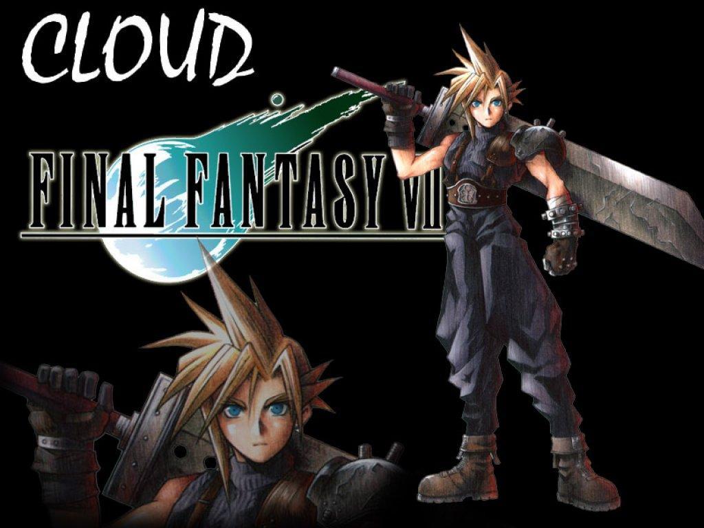 Wallpaper cloud Final Fantasy 7