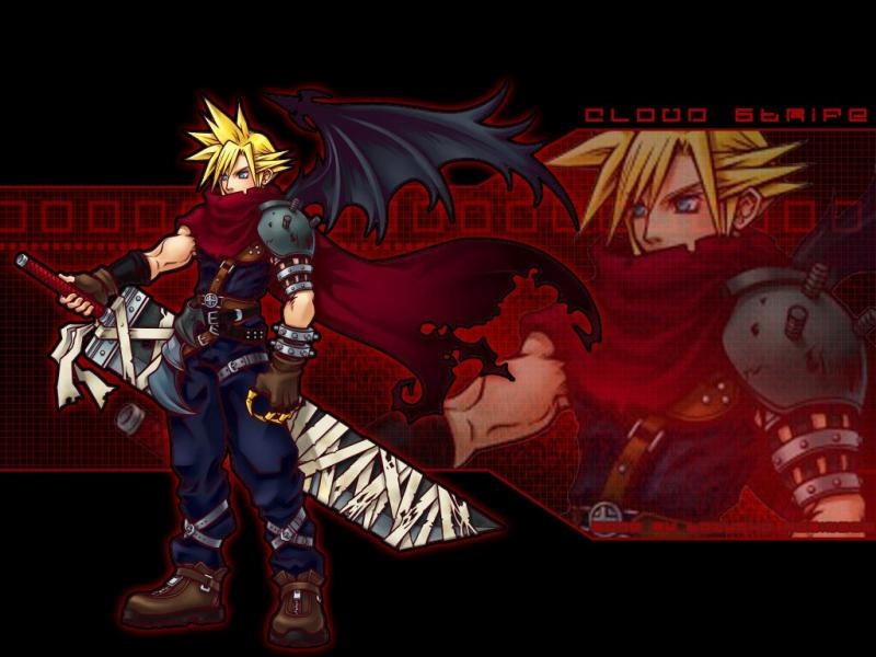 Wallpaper Final Fantasy 7 cloud