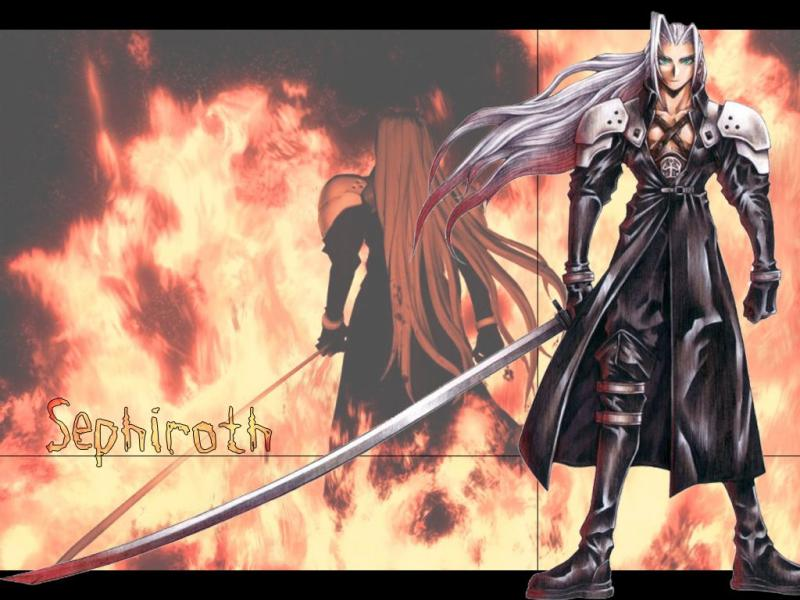 Wallpaper Final Fantasy 7 sephiroth