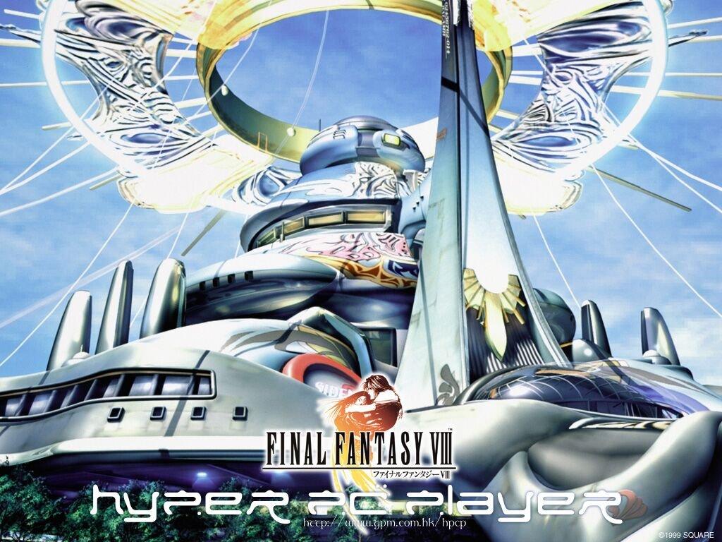 Wallpaper Final Fantasy 8 decord enchenteur