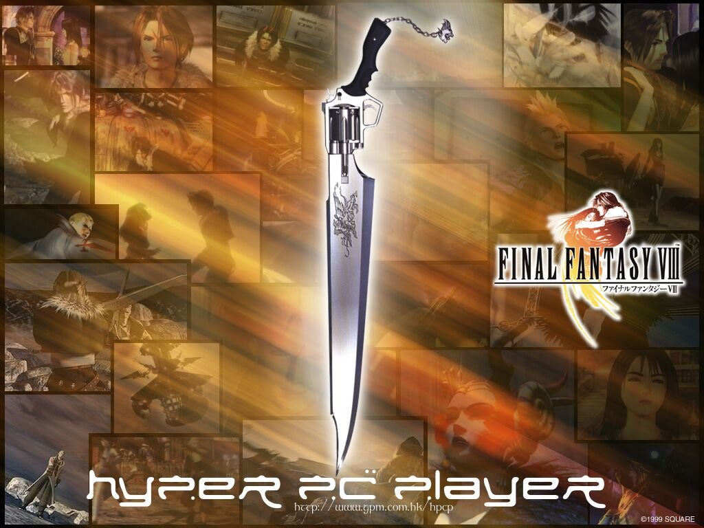Wallpaper Final Fantasy 8 epee