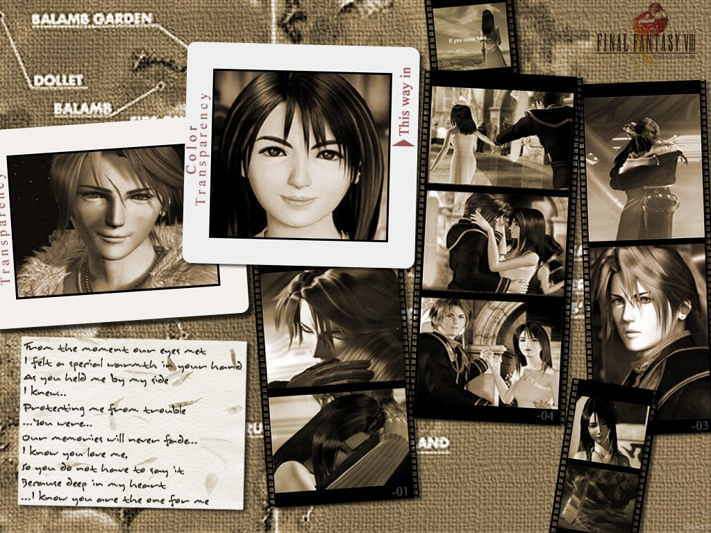 Wallpaper Final Fantasy 8 photo souvenir
