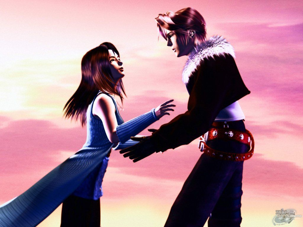 Wallpaper Final Fantasy 8 squall et linoa