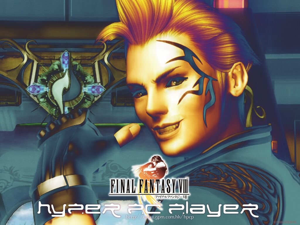 Wallpaper Final Fantasy 8 zell