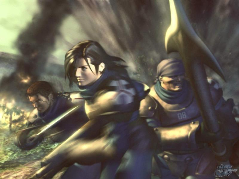 Wallpaper Final Fantasy 8 guerre