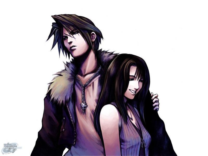 Wallpaper Final Fantasy 8 linoa et squall
