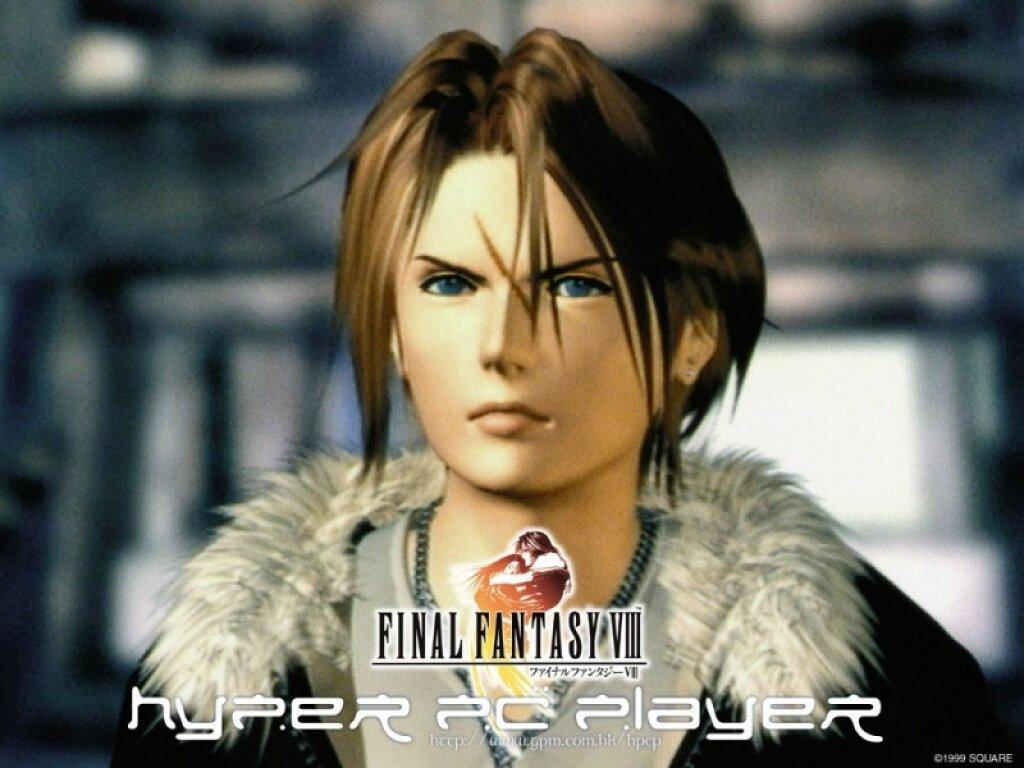 Wallpaper Final Fantasy 8 squall