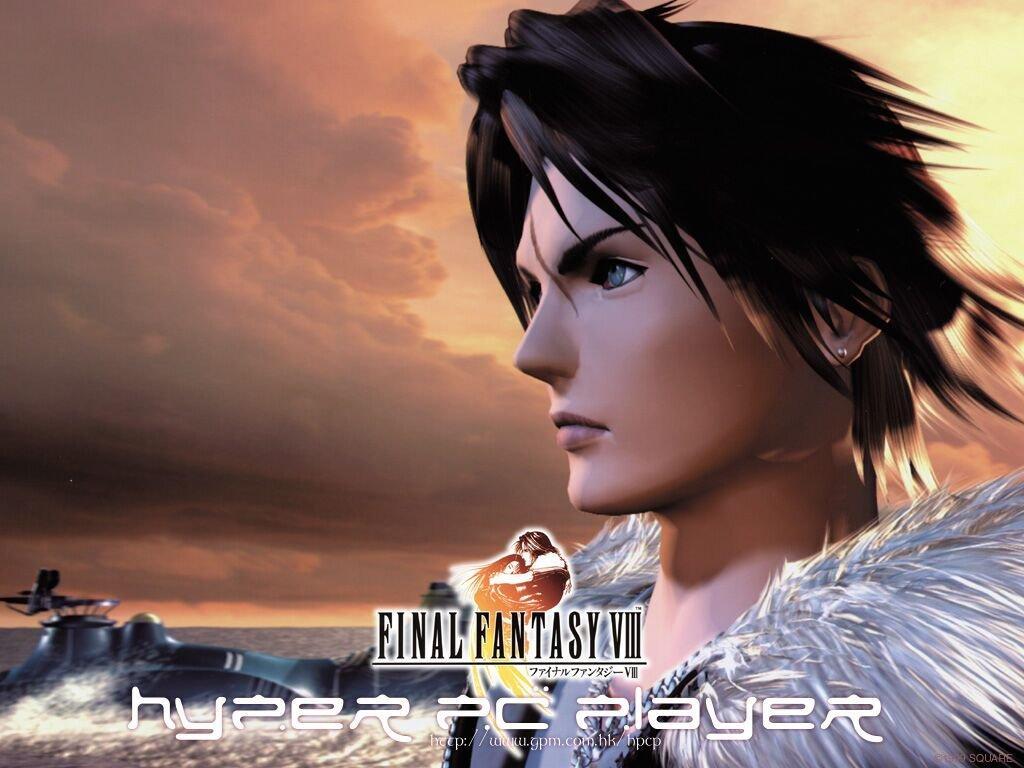 Wallpaper Final Fantasy 8 squall
