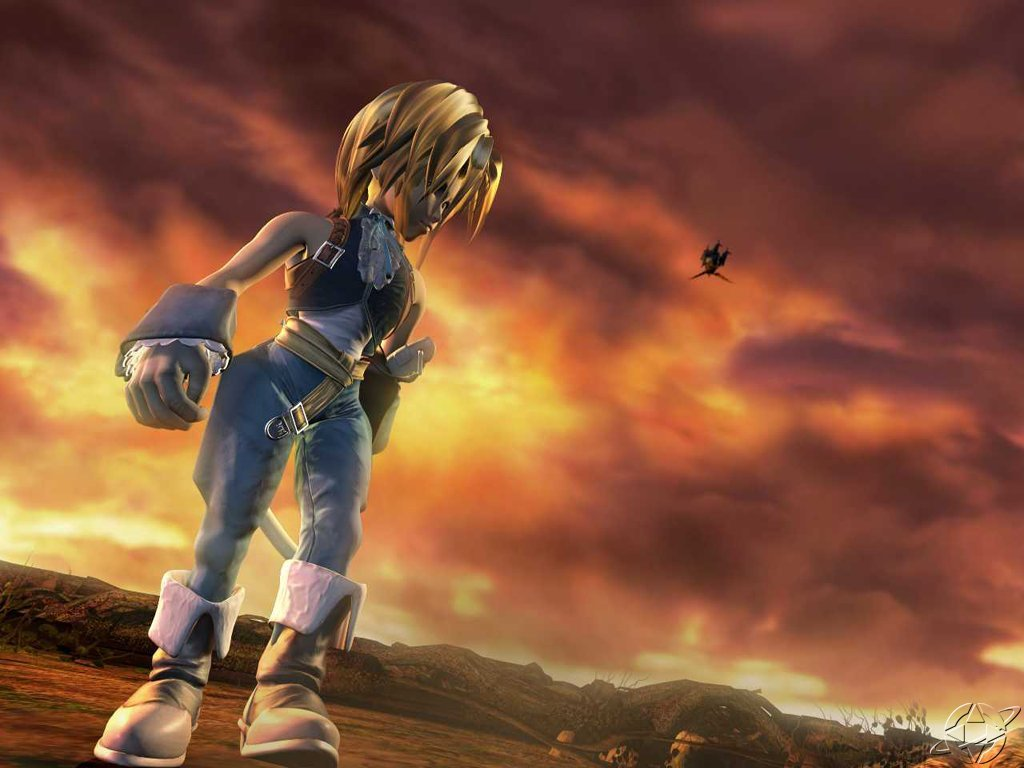 Wallpaper djidane Final Fantasy 9