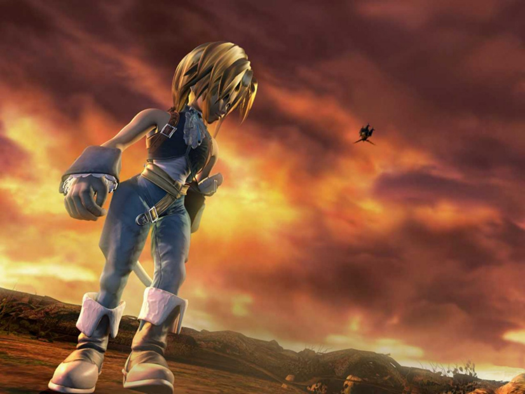 Wallpaper Final Fantasy 9 djidane