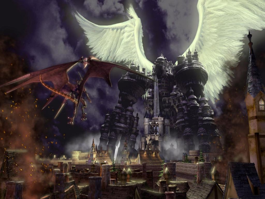 Wallpaper Final Fantasy 9 gande cite
