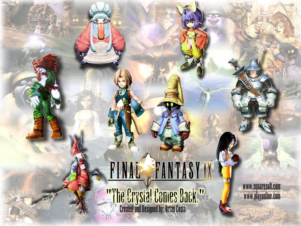 Wallpaper les personnages Final Fantasy 9