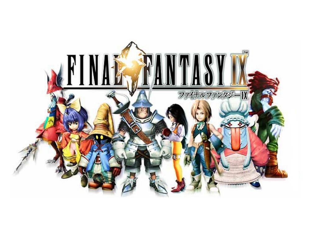 Wallpaper les personnages principaux Final Fantasy 9