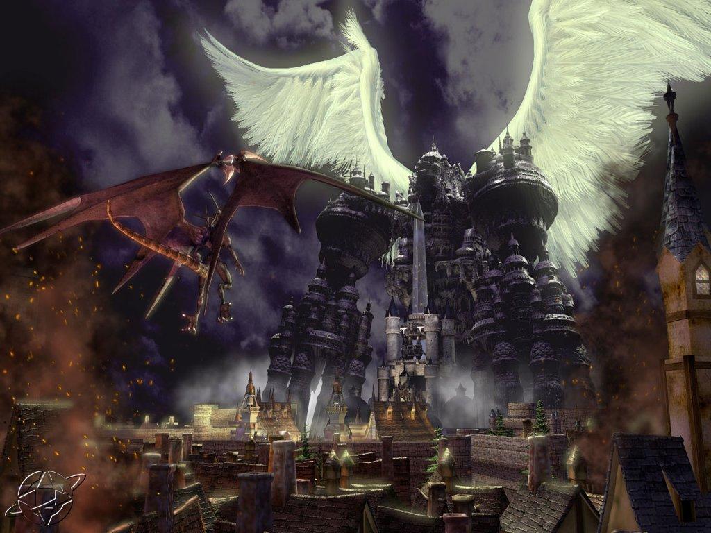 Wallpaper Final Fantasy 9 ville