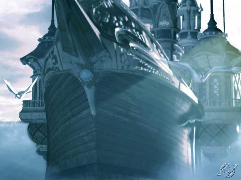 Wallpaper bateau Final Fantasy 9